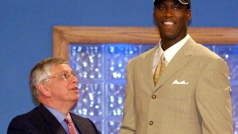 2001: Kwame Brown, Washington Wizards