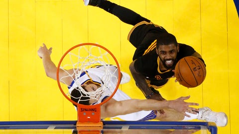 Kyrie Irving wasn't his usual clutch self when he needed to be