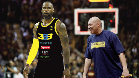 2027: LeBron James returns to Cleveland after failed stint with Vegas Big Ballers