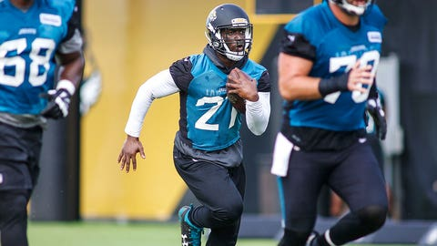 Leonard Fournette won't practice or play this week for Jacksonville