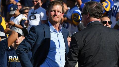 Rams G.M. Les Snead NFL: Dallas Cowboys vs Los Angeles Rams preseason game Memorial Coliseum/Los Angeles, CA  08/13/2016 SI-476 TK1 Credit: John W. McDonough