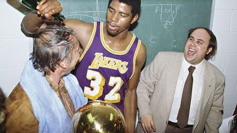 1980 Los Angeles Lakers (60-22, 12-4)