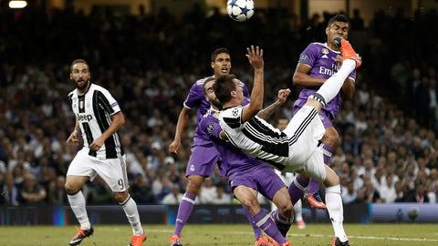 Mario Mandžukic (Juventus 1-4 Real Madrid) final, June 3, 2017