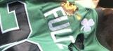 Watch: Boston Celtics fan burns Markelle Fultz jersey after No. 1 pick traded