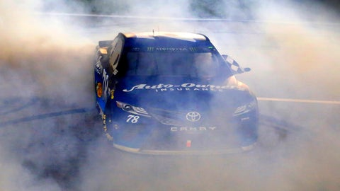Martin Truex Jr., Kansas