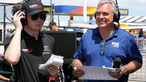 Matt Yocum, FOX NASCAR reporter