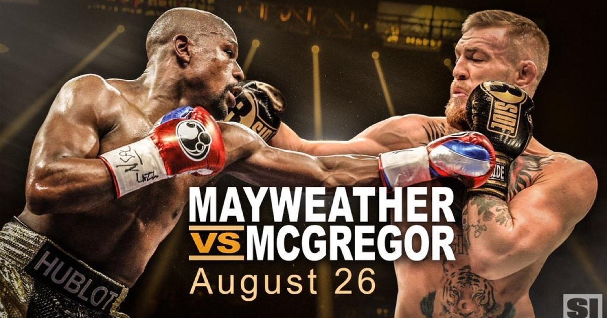 Mayweather fight date in Brisbane