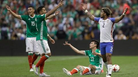 Mexico are in fine shape
