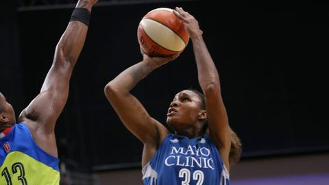 Rebekkah Brunson, Lynx forward (UP ↑)