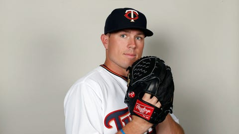 Ryan O'Rourke, Twins pitcher