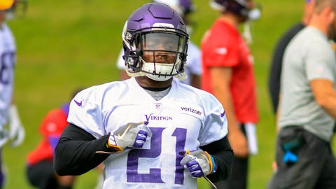 Jerick McKinnon isn't going to let Latavius Murray and Dalvin Cook supplant him without a fight