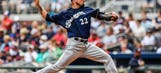 Brewers' Garza gives up 2-run blast in 3-1 loss to Braves