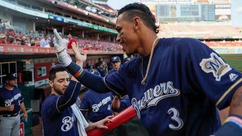 Orlando Arcia, Brewers shortstop (↑ UP)