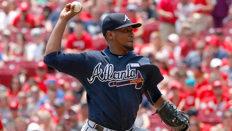 3. Suddenly, Julio Teheran's home struggles spilling into road starts