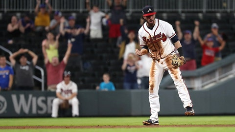 The 2017 lineup stacks up comparably with Braves' top offenses since 2010
