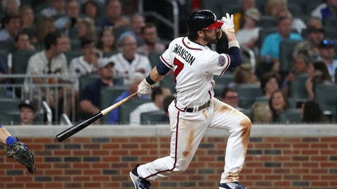 3. Swing-happy Braves avoiding high strikeout numbers