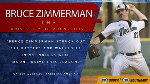 5th pick (No. 140 overall): Bruce Zimmerman