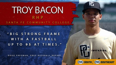 4th pick (No. 110 overall): Troy Bacon