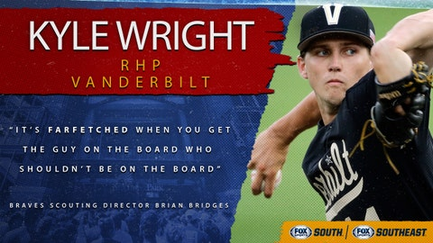 1st pick (No. 5 overall): Kyle Wright