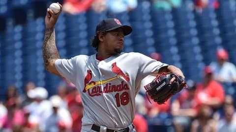 Cardinals starting pitcher Carlos Martinez (6-6, 2.87)