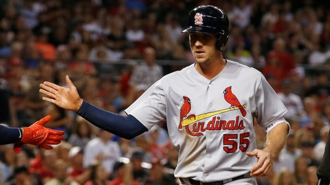 Cardinals activate Piscotty, option Bader