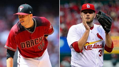 Today's starting pitchers: LHP Patrick Corbin vs. RHP Lance Lynn