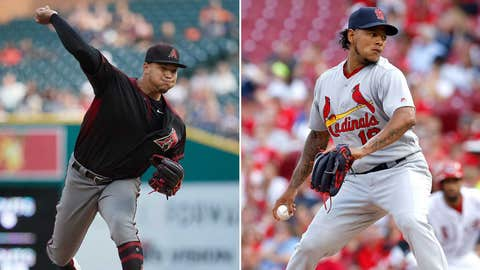 Today's starting pitchers: RHP Taijuan Walker vs. RHP Carlos Martinez