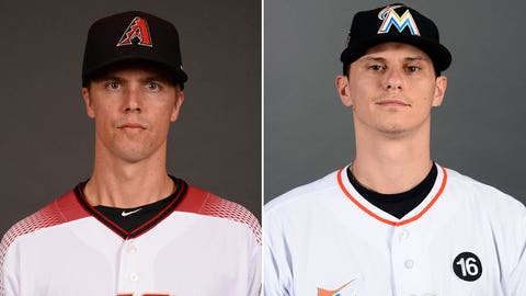 Today's starting pitchers: RHP Zack Greinke vs. LHP Jeff Locke