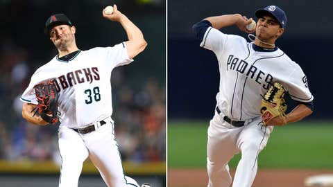 Today's starting pitchers: LHP Robbie Ray vs. RHP Dinelson Lamet