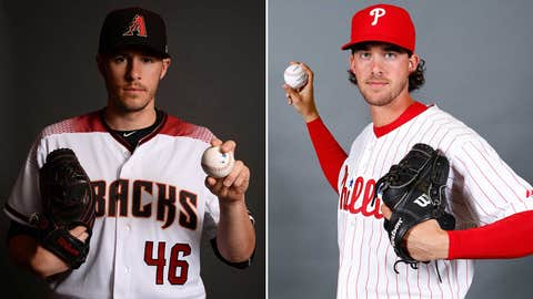 Today's starting pitchers: LHP Patrick Corbin vs. RHP Aaron Nola