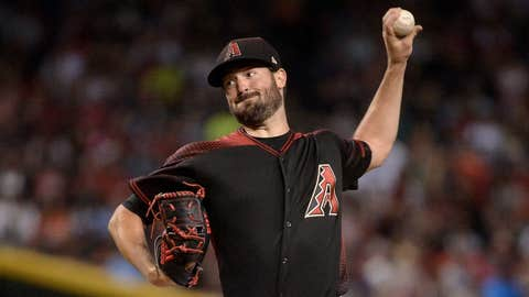 D-backs starting pitcher Robbie Ray (8-3, 2.87 ERA)