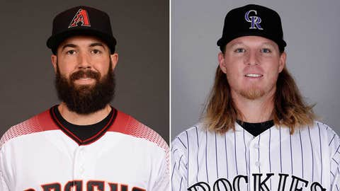 Today's starting pitchers: LHP Robbie Ray vs. RHP Jon Gray