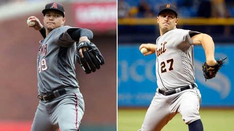 Today's starting pitchers: RHP Taijuan Walker vs. RHP Jordan Zimmermann
