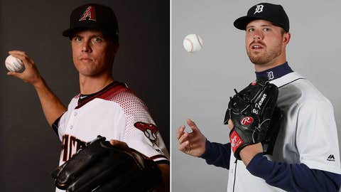 Today's starting pitchers: RHP Zack Greinke vs. RHP Buck Farmer