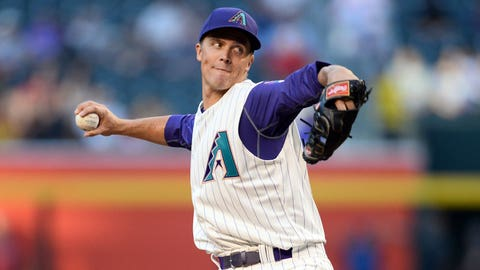 D-backs starting pitcher Zack Greinke (7-3, 3.06 ERA)