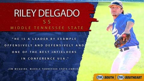 9th pick (No. 260 overall): Riley Delgado