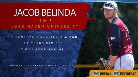 10th pick (No. 290 overall): Jacob Belinda