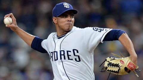 Padres starting pitcher Dinelson Lamet (2-0, 2.70 ERA)
