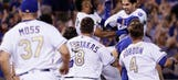 Four-run ninth propels Royals to 5-4 walk-off win over Blue Jays