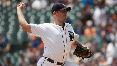 Tigers starting pitcher Jordan Zimmermann (5-4, 5.72 ERA)