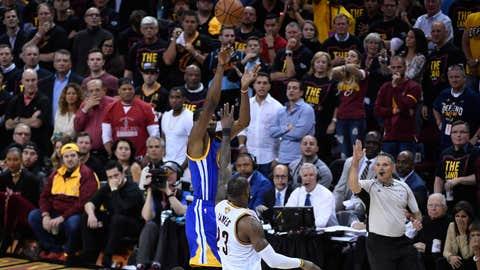 Kevin Durant, Warriors: A+