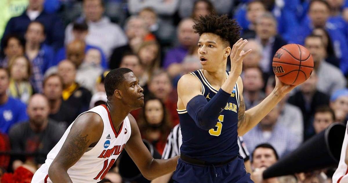 milwaukee bucks draft michigan  dj wilson