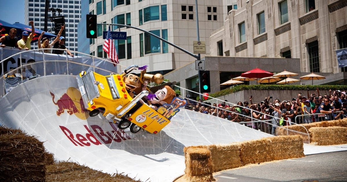 Red Bull Soapbox Race hits streets of LA on Aug. 20 | FOX Sports