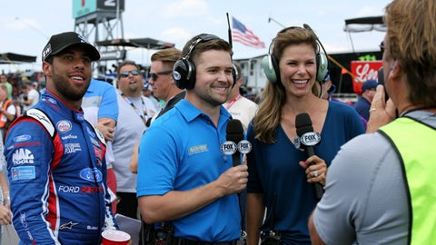 Jamie Little, FOX NASCAR reporter