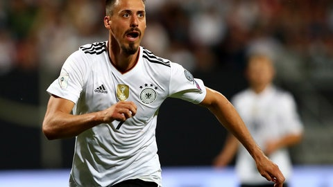 Sandro Wagner is the man to watch
