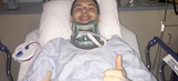 Former NHL player to play pro hockey 8 months after breaking neck during game