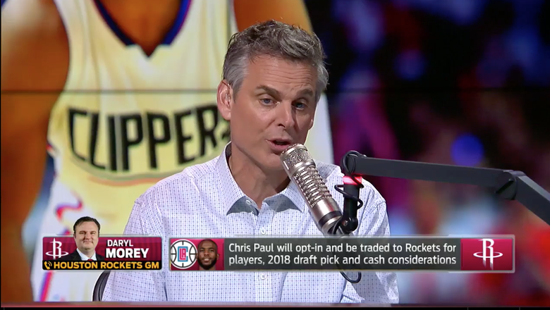 Rockets GM Daryl Morey explains why Houston moved early on Chris Paul trade | THE HERD