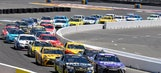 All 38 cars entered in the Toyota/Save Mart 350 at Sonoma