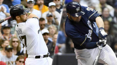 Brewers catchers (↓ DOWN)