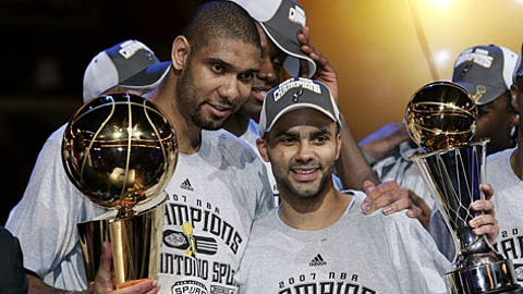 2007 San Antonio Spurs (58-24, 16-4)